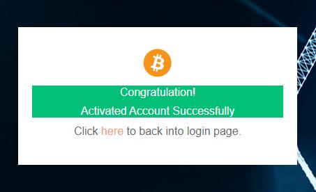 Đăng ký tài khoản thành công
